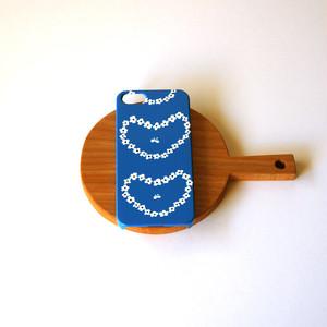 ハード型スマホケース humming heart ( blue )【iPhone/Android 各機種対応】