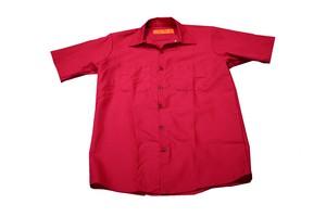RED KAP WORK SHIRT MAROON