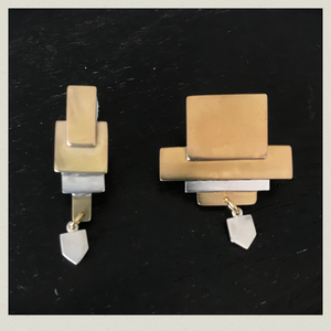 square  earring  1(pierce)