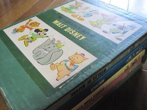 The Wonderful Worlds of Walt Disney全4冊揃