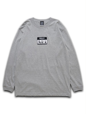 LOGO PATCH L/STEE gray