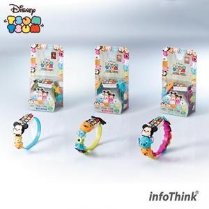 InfoThink リストバンド Disney ディズニー ツムツム microUSBケーブル 22.5cm 充電&データ移行 BIG 3 & SMALL 9 ランダム IT-TSUM-CABLE-12