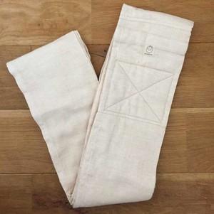 [おくるみスリング]新しく縫いあがりました! オーガニックコットン二重ガーゼ/肌色