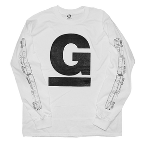 """""undaGround"" "" Long Sleeve Shirt white"