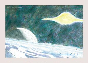 postcard-Kanako Kokubo-宇宙