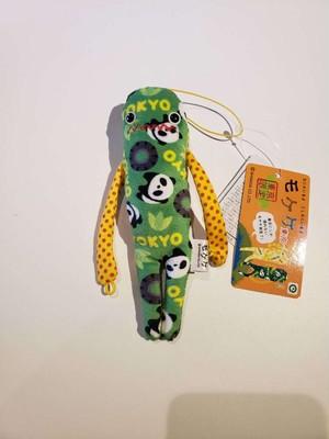 【ご当地】【もけけ】【モケケ】【ストラップ】【限定】【東京】【パンダ】東京パンダ総柄モケケ