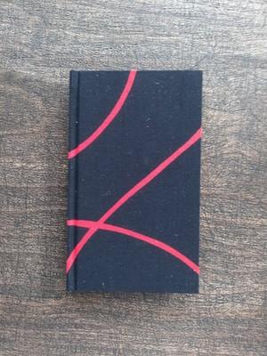 バイブルサイズ 手製本ノート(表紙:赤い糸)