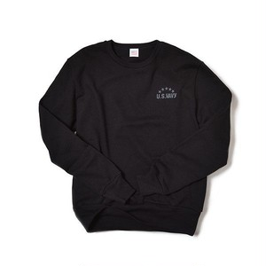 US.Wavy Crew Neck Sweat Shirts