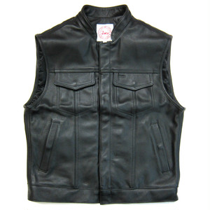 Lil Joe's Legendary Leathers 4 Pocket Joes Vest, LJ276-1cblk