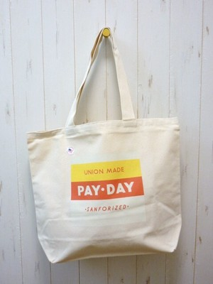 Pay Day Canvas Tote Bag (ペイデイ キャンバス トートバッグ) Made In USA