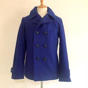 840g Pure Wool Melton P-Coat Royal