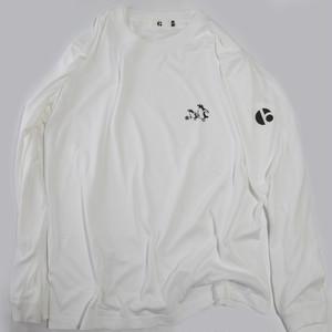 1003 Waik with Football ロングTシャツ