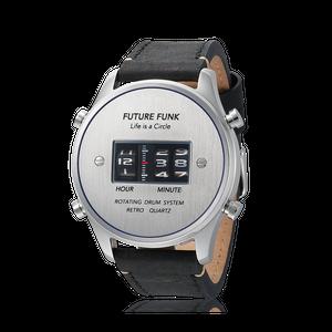 FUTURE FUNK ローラーデジタルウォッチ SVBU-LBK