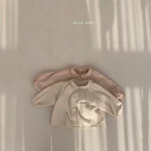 【新作予約】earth-color blouse【baby】