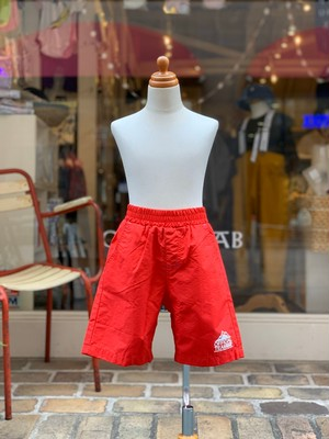 OFFICIAL TEAM  AMPHIBIOUS SHORTS(RED/80〜140cm)