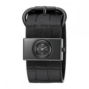 Marc by Marc Jacobs Black Mbm1395 - Viv Leather Strap Watch