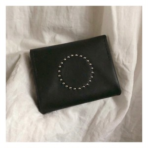 full-moon mini-wallet / black