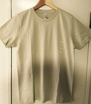 Baby,To Talk About Tee (Size M)