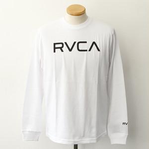 【RVCA】BIG RVCA LS TEE (WHITE)