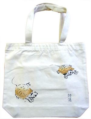 キャンバストートバッグ 銭亀(ゼニガメ)