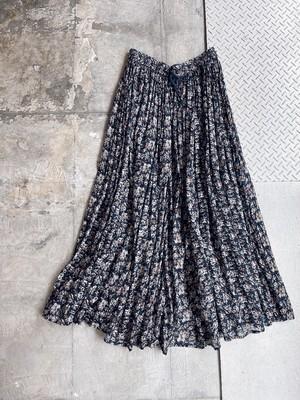 vintage cotton floral skirt