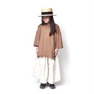 SALE / DRESS MONSTER / サイドスリットT ブラウン 5/6/7