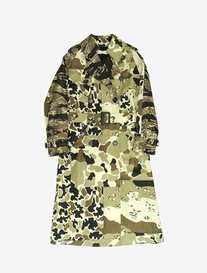 GOLDEN GOOSE DELUXE BRAND  CAMOUFLAGE COAT