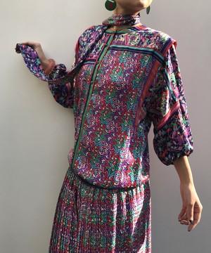 Diane freis animal print Dress ( ダイアン フレイス アニマル柄 ワンピース )