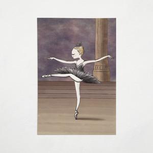 バレエポストカード・黒鳥vol.2