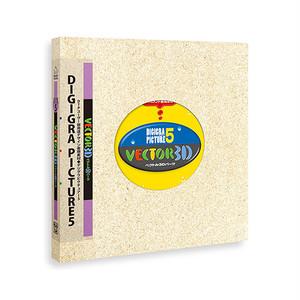 デザイン素材集 パス仕様・立体パーツの素材集「ベクトル3Dパーツ」
