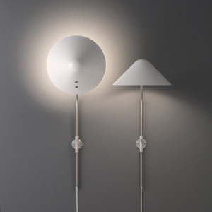 WALL LAMP  WALL VIP MINI V028(スモール) 【カラー:ホワイト/ブラック/ホワイトオパール】Jorgen Gammelgaard/PANDUL