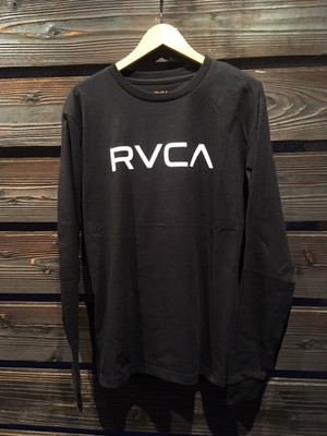 RVCA  BA041-057  BLK Mサイズ  Long Sleeve Tee