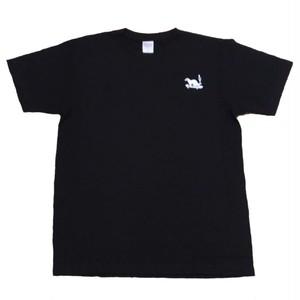 LY:Original T-Shirts ブラックボディー (Back Print) ① 2020001BPB