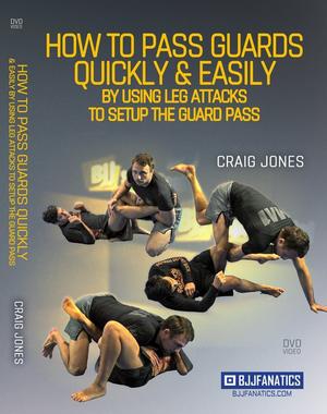 【お取り寄せ中です】クレイグ・ジョーンズ  素早くパスガードして簡単にレッグアタックをする方法