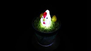Healing lamp 鶏 ver.2