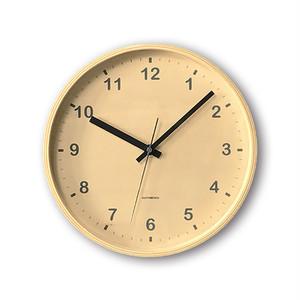 KATOMOKU plywood wall clock km-34MRC 電波時計