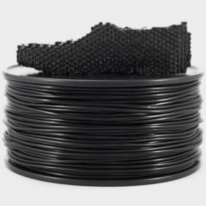 ゴムライクな弾性フィラメント『FilaFlex:黒』10M