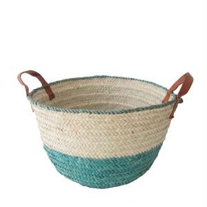 ナイジェリアのかご M 2トーン / Nigerian Basket SizeM 2-tone