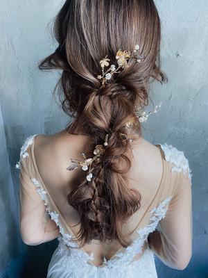 ブライダルヘッドドレス[HA-091]