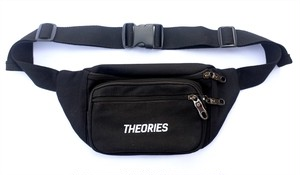 THEORIES DAYPACK BAG -STAMP-  BLACK