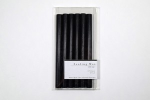 Sealing Wax stick 07.Black シーリングワックス グルーガン用 ブラック