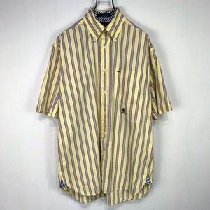 【TOMMY HILFIGER】 Short-sleeved shirt