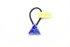 有田焼ヘアゴム  三角
