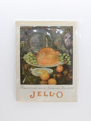 America's most famous dessert JELL-O Poster