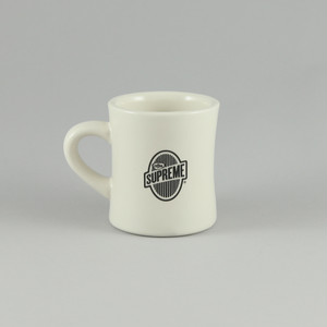 再入荷!ミニタリーマグ黒/ We Eat Coffee for Breakfast Diner Mug