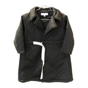 【20AW】EAST END HIGHLANDERS(イーストエンドハイランダース)quilting coat black コート