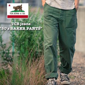 """""""50's BAKER PANTS"""" TCB jeans / TCBジーンズ ベイカーパンツ"""