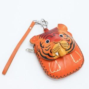 イタリア製 虎のミニ小物入れ ミニ財布