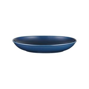 西海陶器 波佐見焼 「コモン」 オーバルボウル 皿 230mm ネイビー 18308