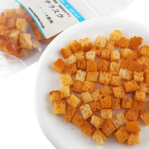 グルテンフリー!小麦粉・卵・砂糖不使用 国産・無添加 米粉プチラスク チーズ&鹿肉